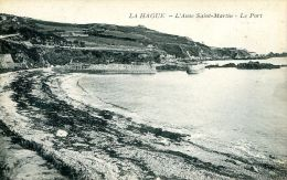 N°46659 -cpa La Hague -l'anse Saint Martin -le Port- - Otros Municipios