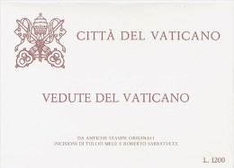 VATICANO  -  CP  -   VEDUTE   DEL   VATICANO - Interi Postali
