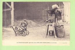 CHARIOT BROUETTE AGRICOLE à La Ferme. Fabrication Ateliers D'Orléans. 2 Scans. Edition R C Seine - Other