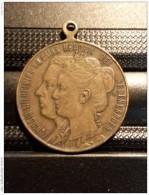 Medaille Medal Herinnering Aan Geboren 30.4.1909 (Juliana) - Royaux/De Noblesse