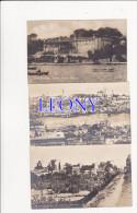 3  CPSM 9X14  De  TURQUIE - CONSTANTINOPLE - SUMMER PALACE THERAPIA - SEPT MURS - VUE PANORAMIQUE - Turquie