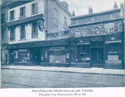Agenda Pharmacie Principale Paul Métadier 53-55 Rue Nationale Tours De 1929 - Libri