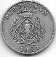 *france perpignan 5 centimes  1921