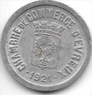 *france  d'evreux 10 centimes  1921