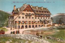 06 BEUIL LE GRAND HOTEL DU MONT MOUNIER PAS CIRCULEE - France