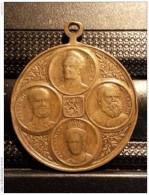 Medaille Medal 1813 -  1913 Neerlands Onafhankelijkheidsfeest. - Royal/Of Nobility