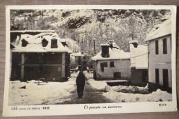 ESPAGNE.LES.VALLE DE ARAN.EL PUENTE EN IVIERNIO.BOYA.8815.CPSM PHOTO VERITABLE.CIRCULE 1952.TBE. - Lérida
