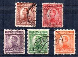 """Yugoslavia - 1923 - Redrawn """"Kraljevina"""" - Used - Used Stamps"""