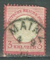 DEUTSCHES REICH 1872: Mi 25 / YT 22, O - KOSTENLOSER VERSAND AB 10 EURO - Germania