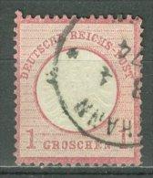 DEUTSCHES REICH 1872: Mi 19 / YT 16, O - KOSTENLOSER VERSAND AB 10 EURO - Germania