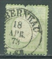 DEUTSCHES REICH 1872: Mi 17 / YT 14, O - KOSTENLOSER VERSAND AB 10 EURO - Germania