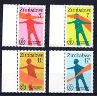 Zimbabwe - 1981 - International Year For Disabled Persons - MNH - Zimbabwe (1980-...)