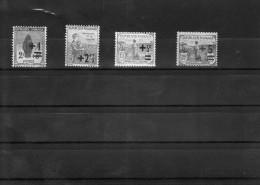 Orphelins De La Guerre 1922 Y Et T N° 162.163.164.165. Neufs Avec Gomme Surchargés Cote 10 Euros