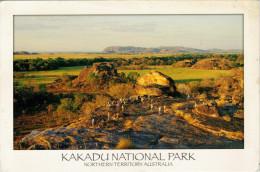 KAKADU  NATIONAL PARK   SUNSET AT UBIRR   MAXICARD  11,8X17,2   (VIAGGIATA) - Kakadu