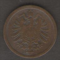 GERMANIA 2 PFENNIG 1876 - [ 2] 1871-1918 : Impero Tedesco