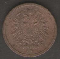 GERMANIA 2 PFENNIG 1877 - [ 2] 1871-1918 : Impero Tedesco