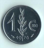 ** 1 CENT MONACO 1976  FDC ** - 1960-2001 Nouveaux Francs