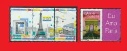 France 1989 - 2007, Paris, Opéra Bastille, Tour Eiffel, Arche De La Défense, Arc De Triomphe - Monuments