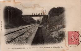 Nuits Saint Georges : Le Pont St-Bernard, Champ De Bataille Du 18 Décembre 1870 (Edit. E.C. Et M., 121) - Nuits Saint Georges