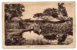 Zambie--ZAMBEZE--Village Dans La Brousse (petite Animation) éd Sté Missions évangélistes éd Braun - Sambia