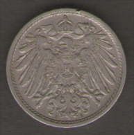 GERMANIA 10 PFENNIG 1913 - [ 2] 1871-1918 : Impero Tedesco