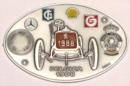 Plaque De Rallye Royal Vétéran Belgium_ardennes_1988-1989-1990_3 Plaques - Rally-affiches