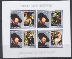 Congo 2006 Peter Paul Rubens M/s IMPERFORATED ** Mnh (27005) - Ongebruikt