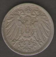 GERMANIA 10 PFENNIG 1912 - [ 2] 1871-1918 : Impero Tedesco