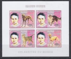 Congo 2006 Marie Curie M/s IMPERFORATED ** Mnh (27005B) - Democratische Republiek Congo (1997 - ...)
