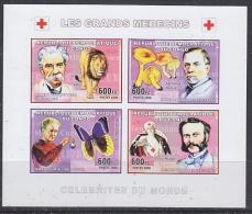 Congo 2006 Charles Darwin M/s IMPERFORATED ** Mnh (27005E) - Democratische Republiek Congo (1997 - ...)