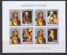 Congo 2006 Albrecht Dürer / Painter M/s IMPERFORATED ** Mnh (27005F) - Democratische Republiek Congo (1997 - ...)