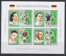 Congo 2006 Football M/s IMPERFORATED  ** Mnh (27005Fl) - Democratische Republiek Congo (1997 - ...)