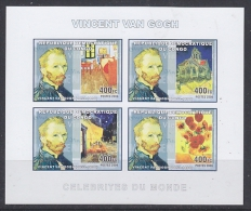 Congo 2006 Vincent Van Gogh / Painter M/s IMPERFORATED ** Mnh (27005M) - Democratische Republiek Congo (1997 - ...)