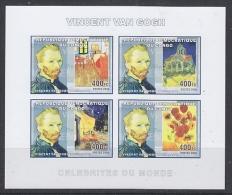 Congo 2006 Vincent Van Gogh / Painter M/s IMPERFORATED ** Mnh (27005M) - Ongebruikt