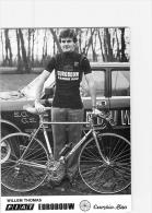 Willem THOMAS , Autographe Manuscrit, Dédicace. 2 Scans. Cyclisme. Eurobouw Cambio Rino 1980 - Wielrennen