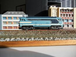Scala N - LIMA SNCF LOCO DIESEL Bo Bo  #  67001 - N SPUR - N GAUGE - - Locomotives