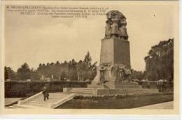 BRUSSELS - Graf Van Een Franschen Onbekenden Soldaat, Op Belgischen Bodem Gesneuveld 1914 - 18 - Marktpleinen, Pleinen