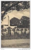 RABOSEE ..-- SOMME - LEUZE ..-- QUATRE - BRAS  . La Belgique Outragée . Cimetière 1914 . - Somme-Leuze
