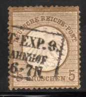 YT 6 EMPIRE 1872 COTE 110 € - Ungebraucht