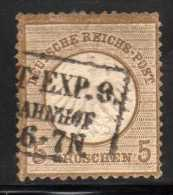 YT 6 EMPIRE 1872 COTE 110 € - Allemagne
