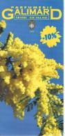 Ancien Dépliant Sur La Parfumerie Galimard Grasse Eze Village (vers 1998) - Dépliants Touristiques