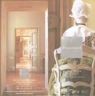 Ancien Dépliant Sur Le Musée Provençal Du Costume Et Du Bijou Fragonard Grasse (vers 1998) - Dépliants Touristiques