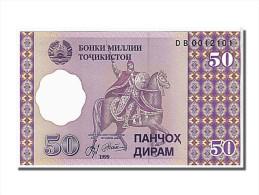 Tadjikistan, 50 Diram Type 1999 - Tadjikistan