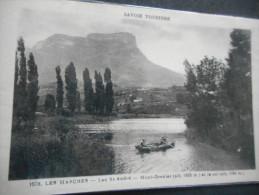 CPA - LES MARCHES - Lac SAINT ANDRE - MONT GRANIER Et Le COL -2 Rameurs Dans Une Barque - France