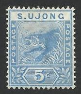 Malaya, Sungei Ujong, 5 C. 1893, Sc # 33, Mi # 16, MH. - Altri