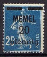 Memel 1920 Mi 20 * [010216XIV] - Memelgebiet