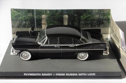 PLYMOUTH SAVOY JAMES BOND 007 FROM RUSSIA WITH LOVE UNIVERSAL HOBBIES 1/43