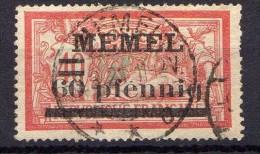 Memel 1920 Mi 24, Gestempelt [010216XIV] - Memelgebiet