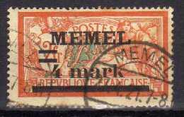 Memel 1920 Mi 31, Gestempelt [010216XIV] - Memelgebiet