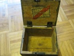 DEUTSCHE  Holzkisten   Für Munition    19 X 16 X 14 CM - 1939-45